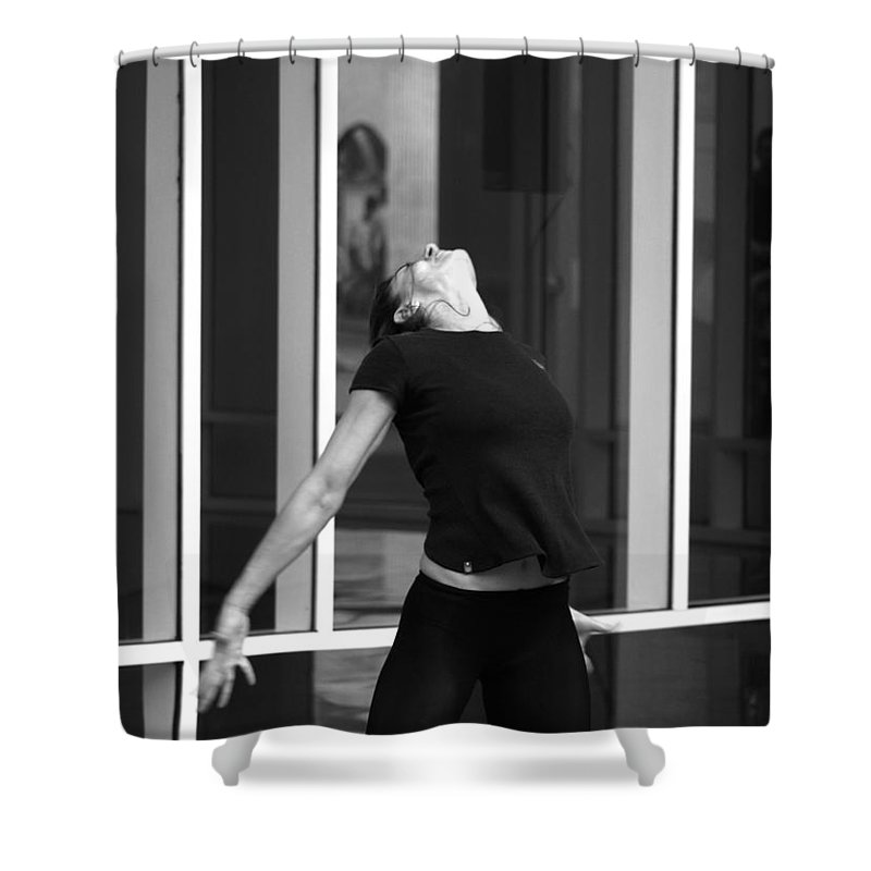 Dance Shower Curtain featuring the photograph 16 by Roger Muntes