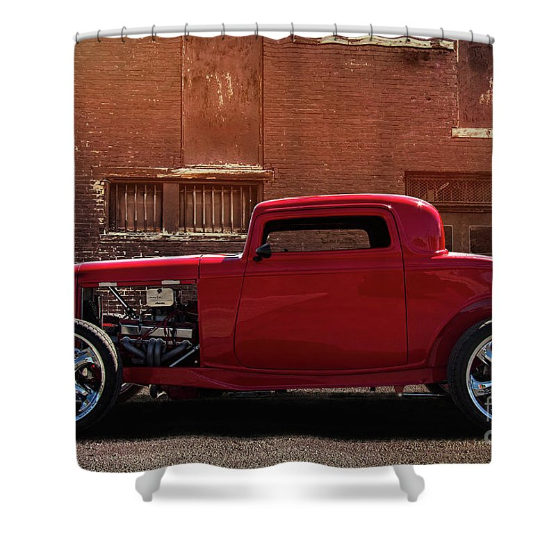 1932 Ford Deuce Coupe Shower Curtain for Sale by Nick Gray
