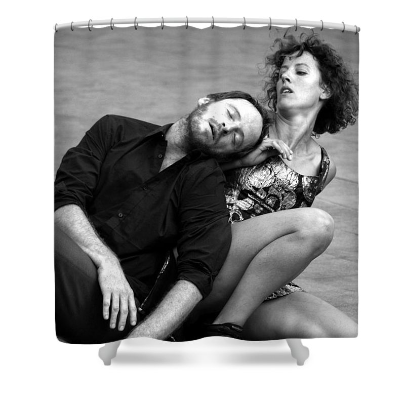 Dance Shower Curtain featuring the photograph 20 by Roger Muntes