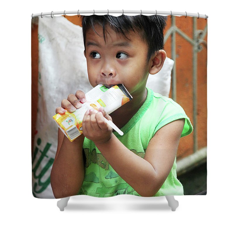 Cavite Shower Curtain featuring the photograph All Mine by Jez C Self
