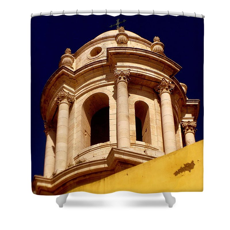 Andalucia Cadiz Spain Shower Curtain featuring the photograph Andalucia Cadiz Spain by Paul James Bannerman