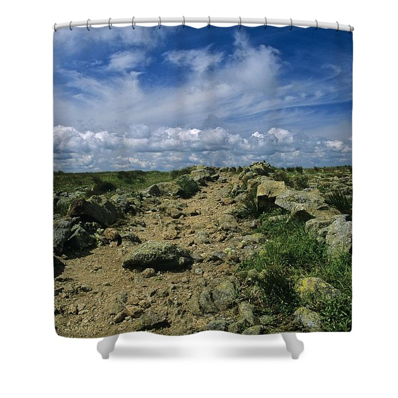 Appalachian Trail Shower Curtain featuring the photograph Appalachian Trail - White Mountains New Hampshire Usa by Erin Paul Donovan