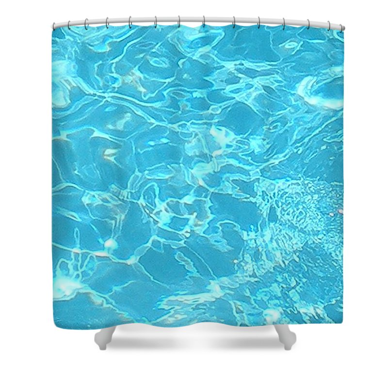 Water Shower Curtain featuring the photograph Aquatica by Maria Bonnier-Perez