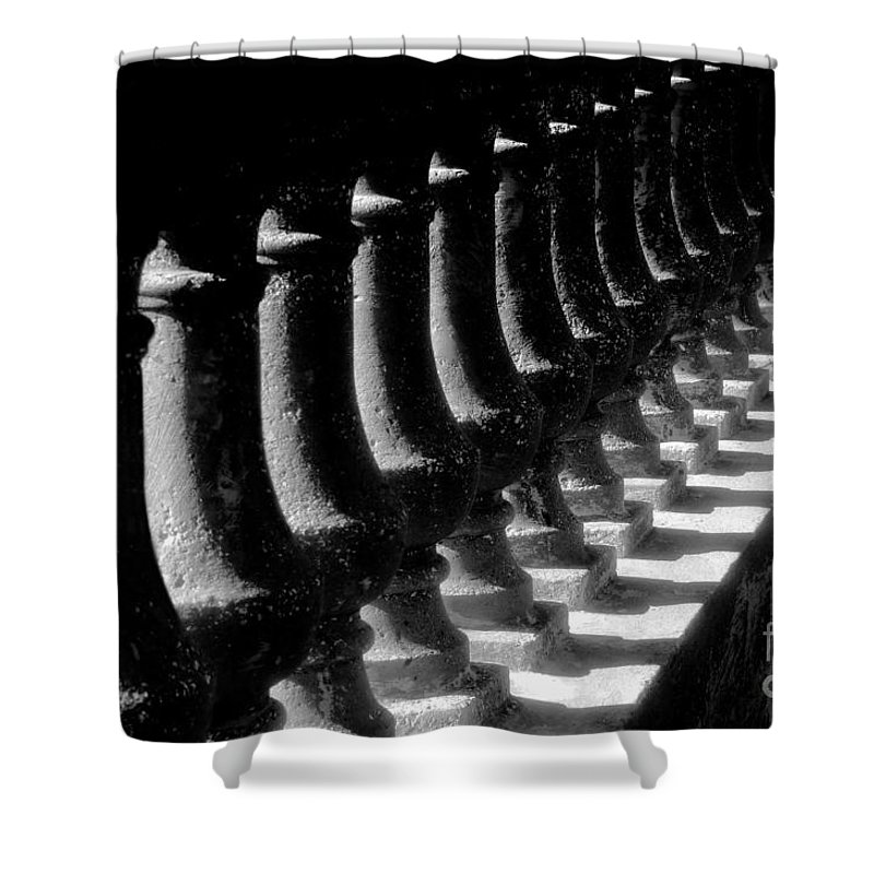 Balustrade Shower Curtain featuring the photograph Balustrade by David Lee Thompson