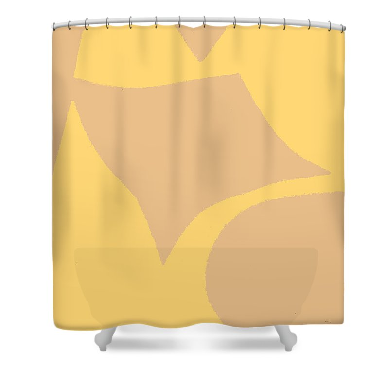 Torso Shower Curtain featuring the painting Beach Girl by William Riley