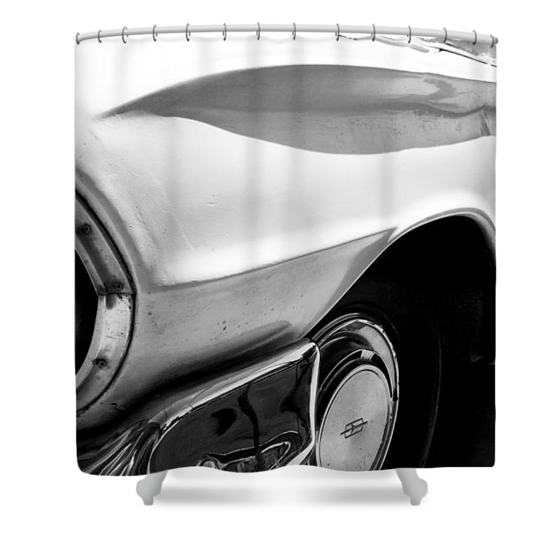 Biscayne Shower Curtain featuring the photograph Biscayne by Amanda Barcon