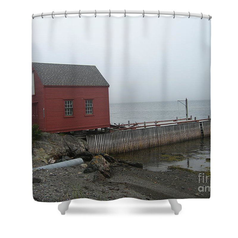 Photograph Bonavista Island Atlantic Ocean Newfoundland Shower Curtain featuring the photograph Bonavista by Seon-Jeong Kim