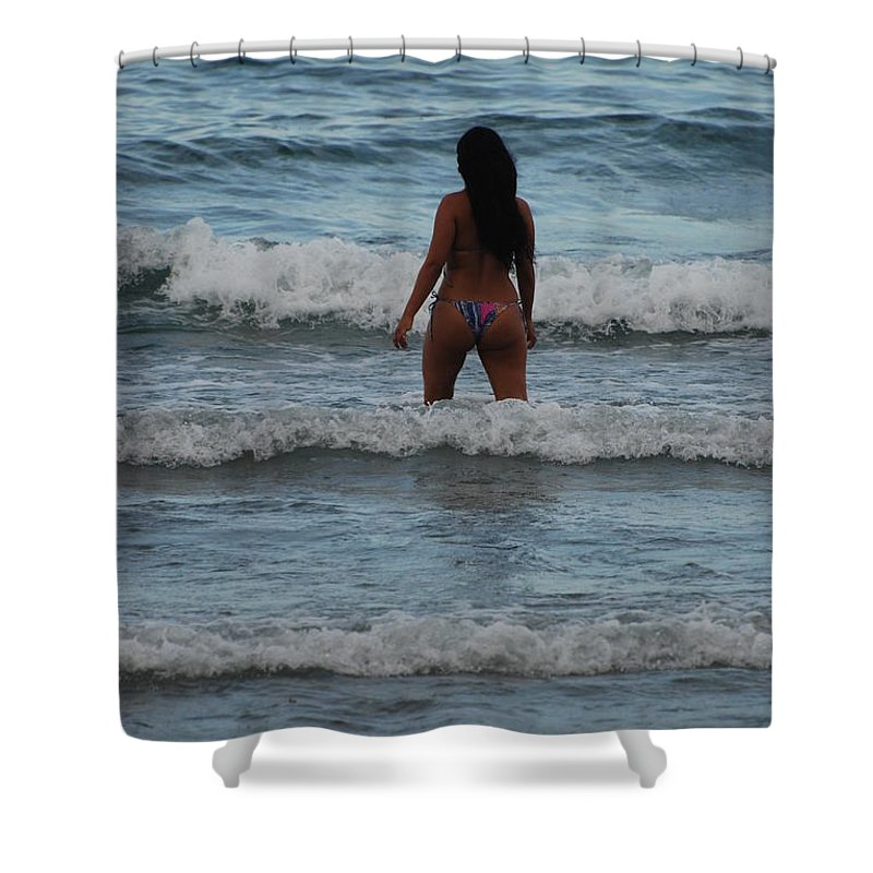 Sexy Shower Curtain featuring the photograph Brazilian Beauty by Rob Hans