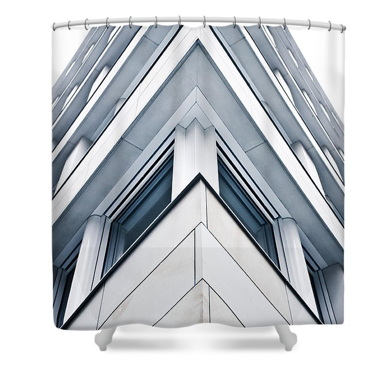 Acute Angle Photographs Shower Curtains