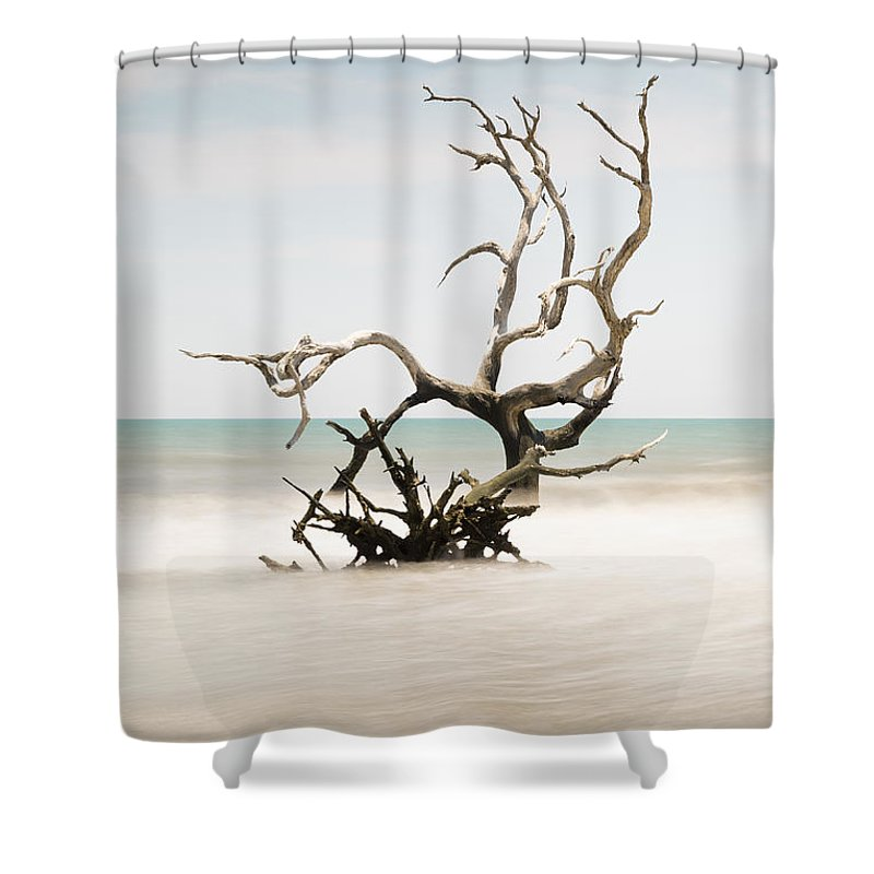 Bulls Island Shower Curtain featuring the photograph Bulls Island C-vi by Ivo Kerssemakers