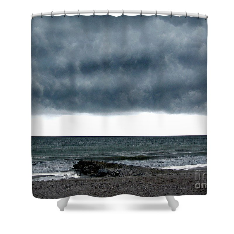 Scenic Tours Shower Curtain featuring the photograph Cauldron by Skip Willits