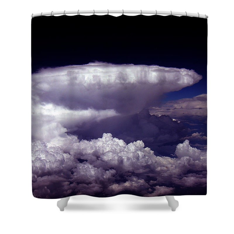 Aviation Art Shower Curtain featuring the photograph Cb2.074 by Strato ThreeSIXTYFive