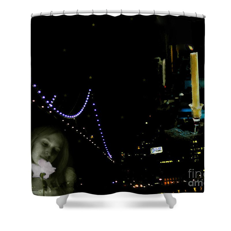 City Shower Curtain featuring the photograph City Of Dreams 2 by Madeline Ellis