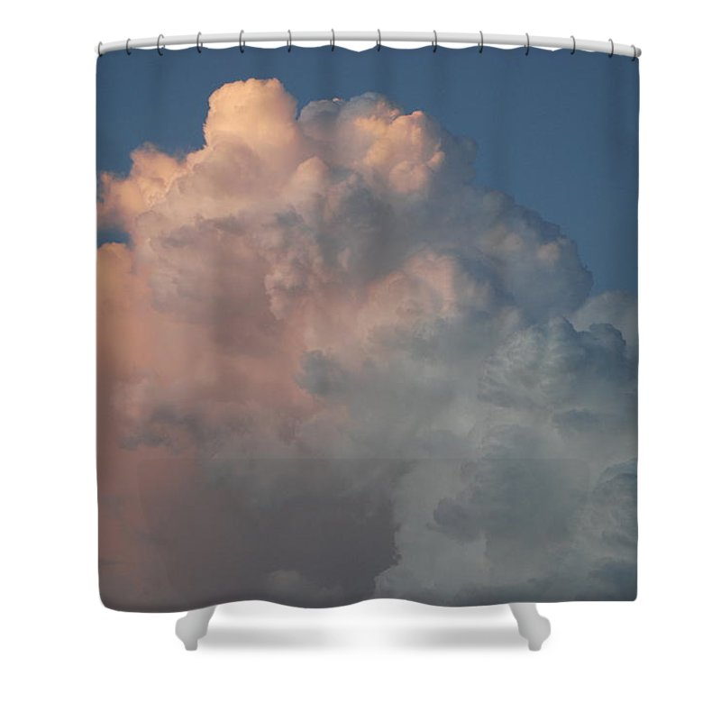 Clouds Shower Curtain featuring the photograph Cloudy Day by Rob Hans
