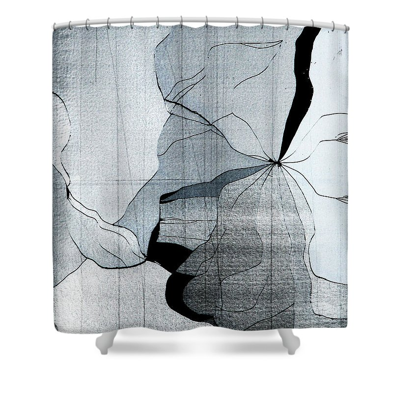 Abstract Shower Curtain featuring the photograph Colors Are Bleeding Once Again by Dana DiPasquale