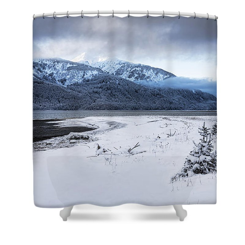 Alaska Shower Curtain featuring the photograph Coming Storm by Michele Cornelius