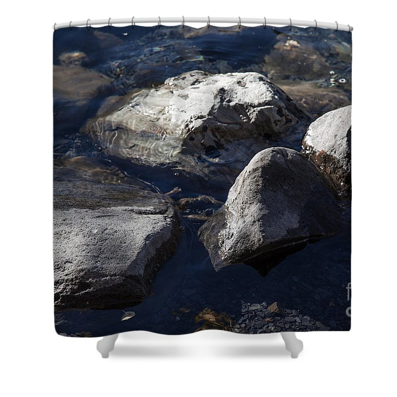 Convict Lake Shower Curtain featuring the photograph Convict Lake by Richard Smukler