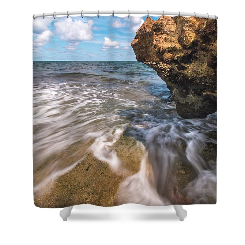 Coral Cove Shower Curtain featuring the photograph Coral Cove by Joshua Powell