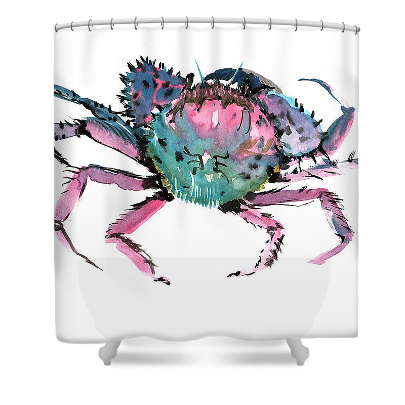 Crab Shower Curtain For Sale By Suren Nersisyan