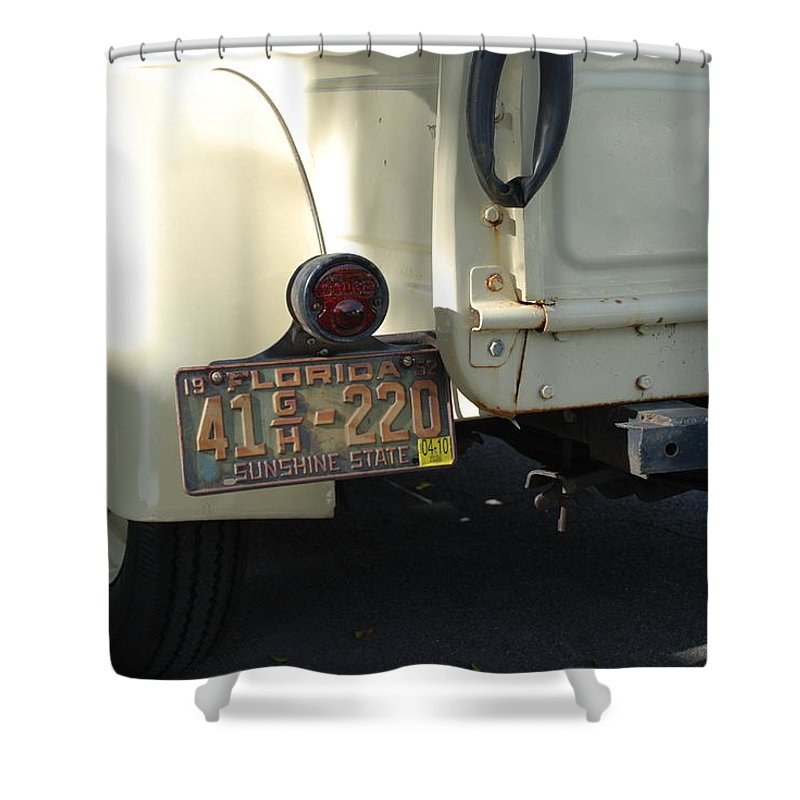 Truck Shower Curtain featuring the photograph Dodge by Rob Hans