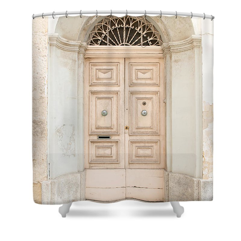 Ancient Shower Curtain featuring the photograph Doors Of The World 71 by Sotiris Filippou