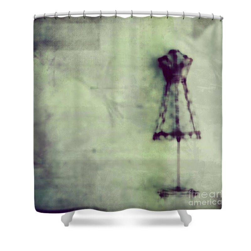 Blue Shower Curtain featuring the photograph Dress Me Up In What You Want Me To Be by Dana DiPasquale