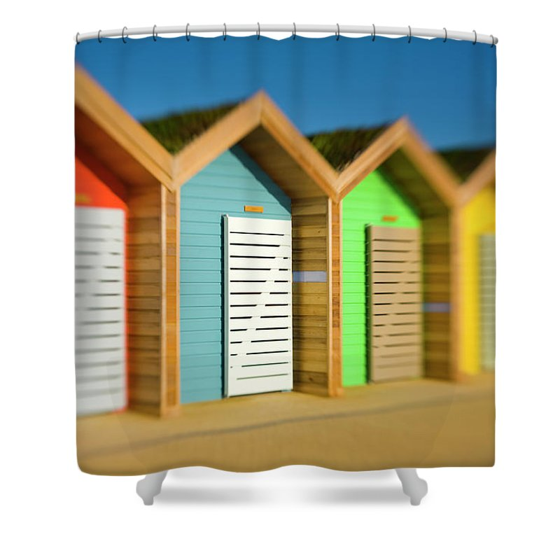 Northumberland Shower Curtain featuring the photograph England, Northumberland, Blyth by Jason Friend