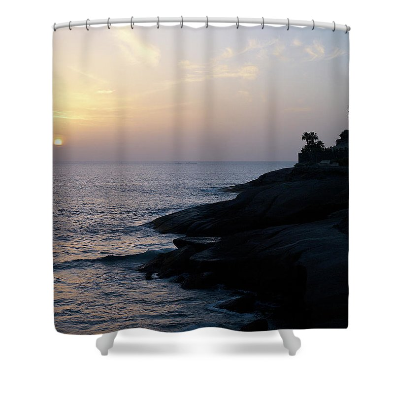 Fanabe Shower Curtain featuring the photograph Fanabe Evening 2 by Jouko Lehto
