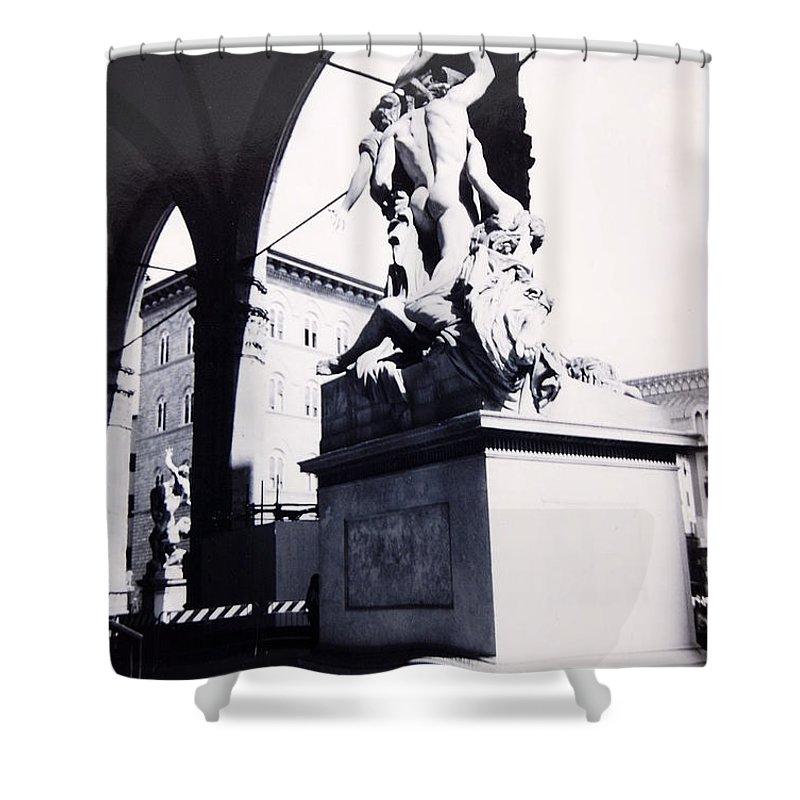 Firenze Shower Curtain featuring the photograph Florence by Kurt Hausmann