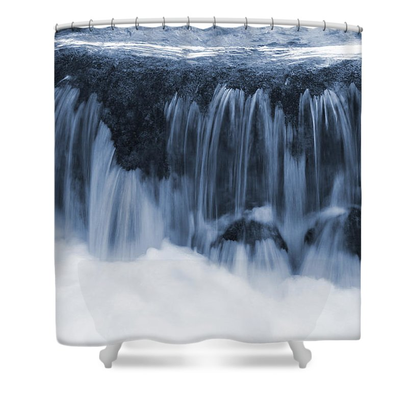 Nature Shower Curtain featuring the photograph Flow II by Daniel Csoka
