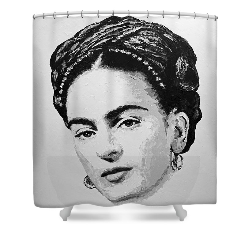 Frida Shower Curtain Featuring The Painting Kahlo By Havi