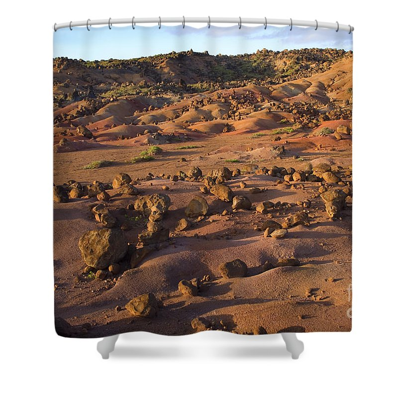 Afternoon Shower Curtain featuring the photograph Garden Of The Gods by Ron Dahlquist - Printscapes