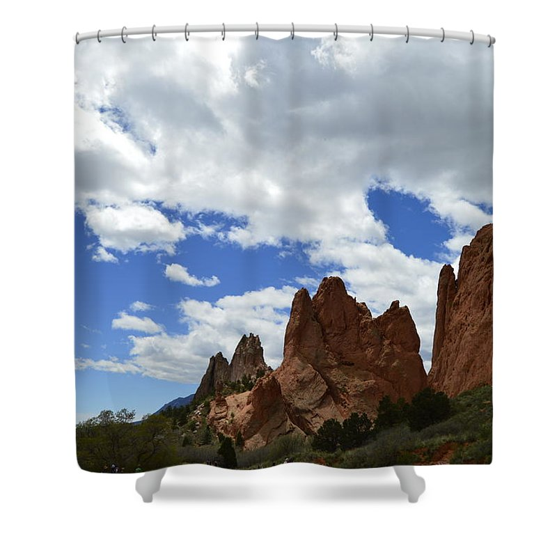 Shower Curtain featuring the photograph Garden Of The Gods by Sean Kelley