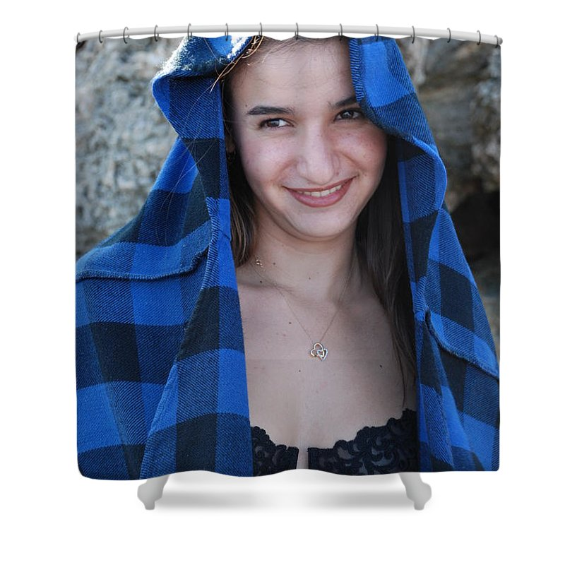 Woman Shower Curtain featuring the photograph Gisele by Rob Hans