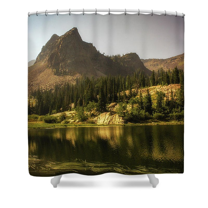 Landscape Shower Curtain featuring the photograph Lake Blanche by Mark Memmott