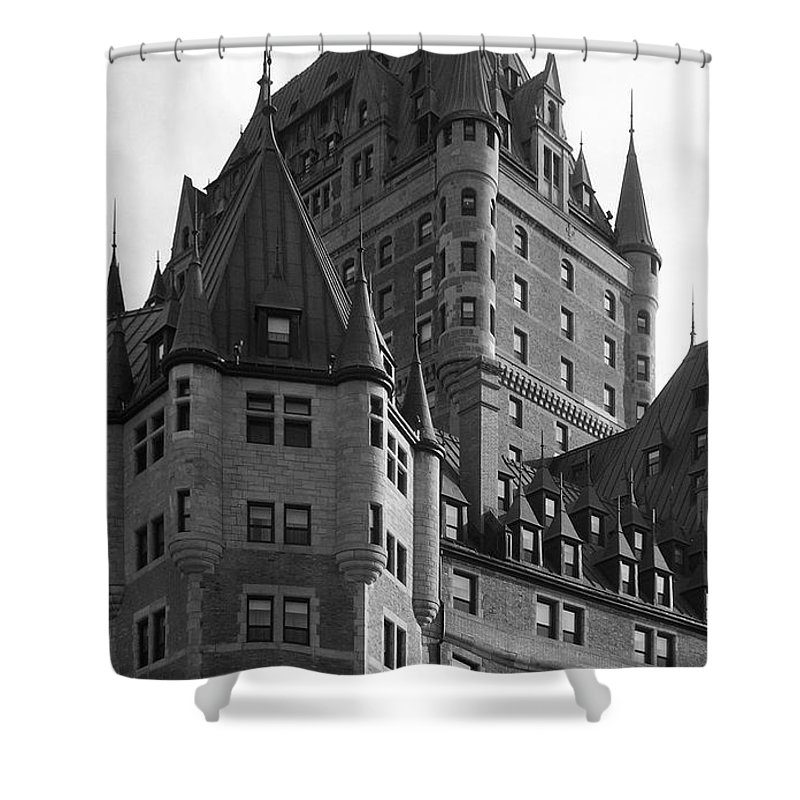 North America Shower Curtain featuring the photograph Le Chateau by Juergen Weiss