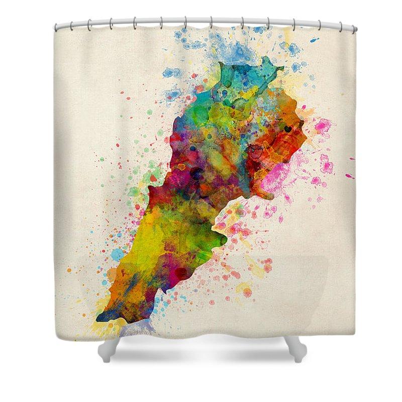 Lebanon Shower Curtains