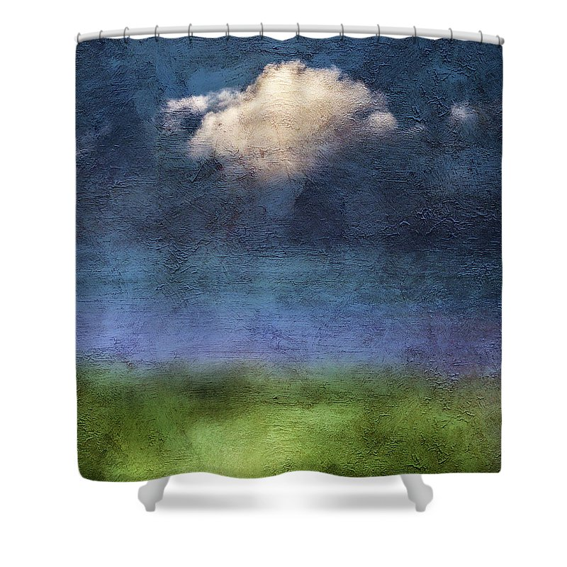 Usa Shower Curtain featuring the photograph Lonesome by John Whitmarsh