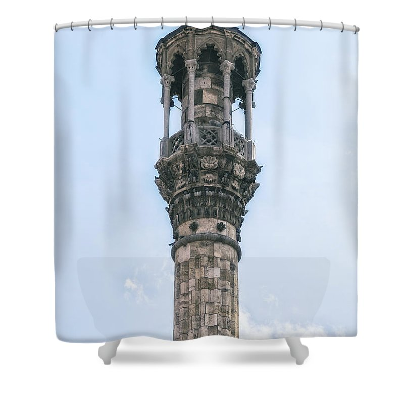 Mosque Shower Curtain featuring the photograph Minaret by Joana Kruse