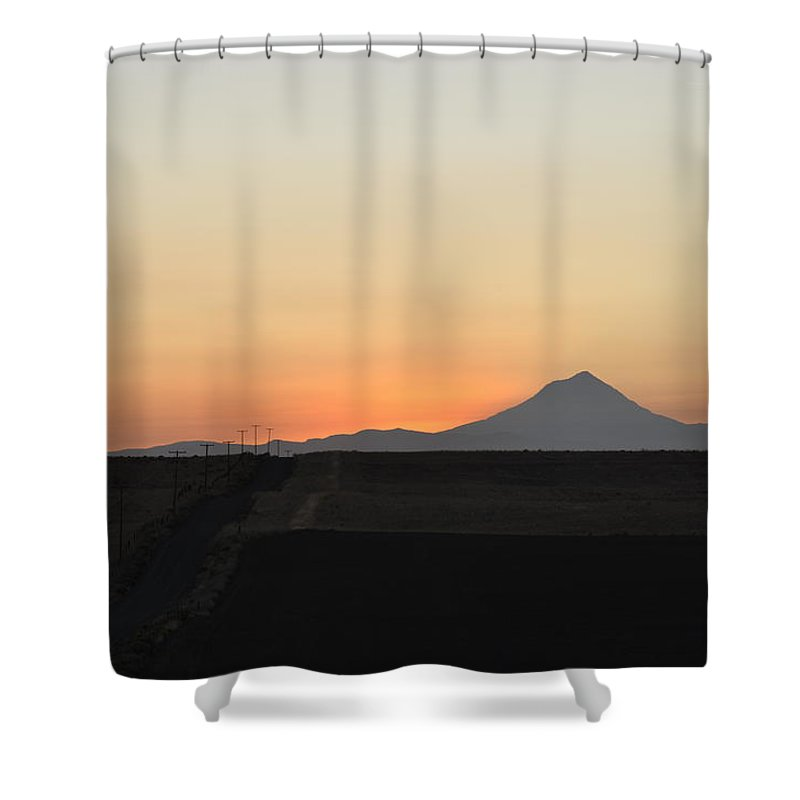 Oregon Shower Curtain featuring the photograph Mount Hood 2 by Rich Bodane