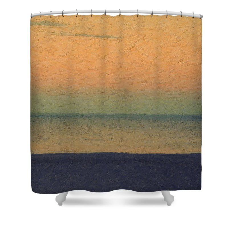Minimalist Decor Shower Curtains