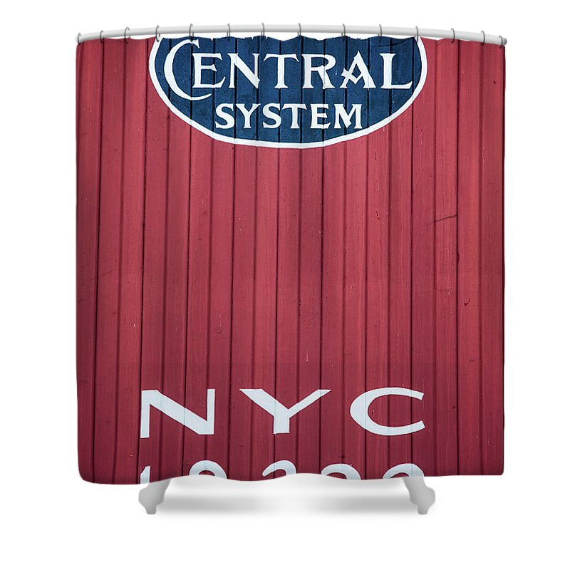 Nyc 19322 Shower Curtain featuring the photograph Nyc 19322 by Karol Livote