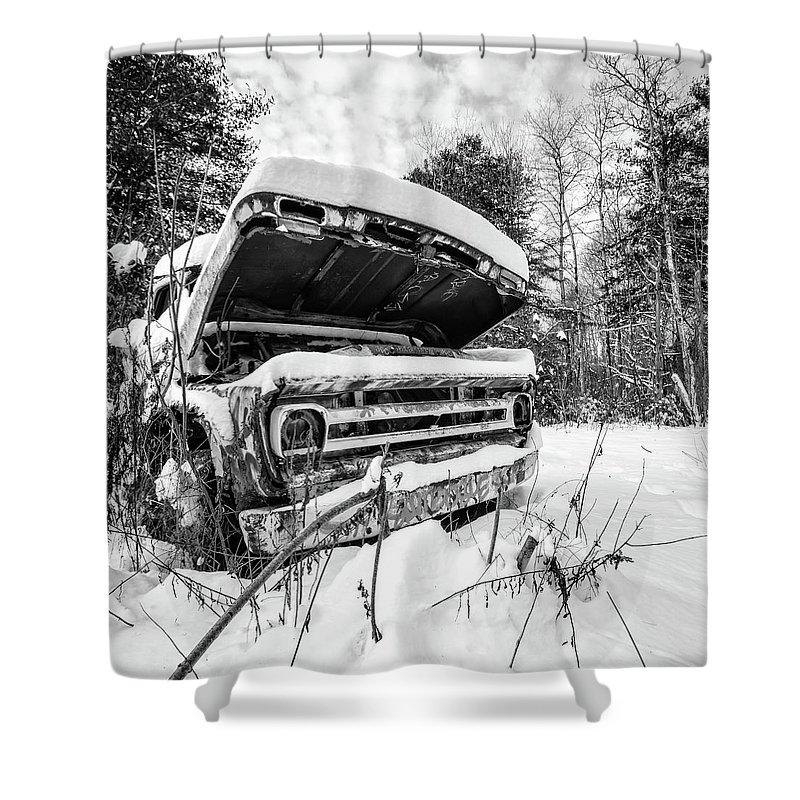 Transportation Shower Curtains