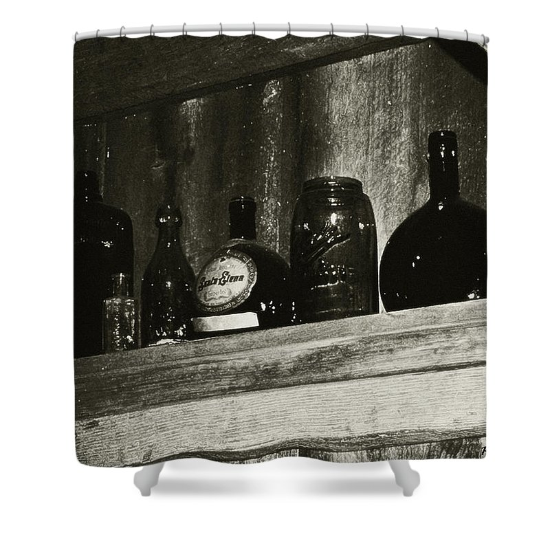 Antiques Shower Curtain featuring the photograph Old And Forgotten by RC DeWinter