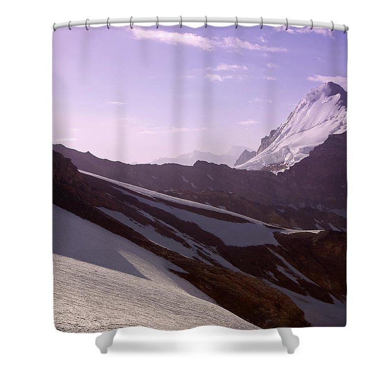 Beautiful Shower Curtain featuring the photograph Pamir by Konstantin Dikovsky