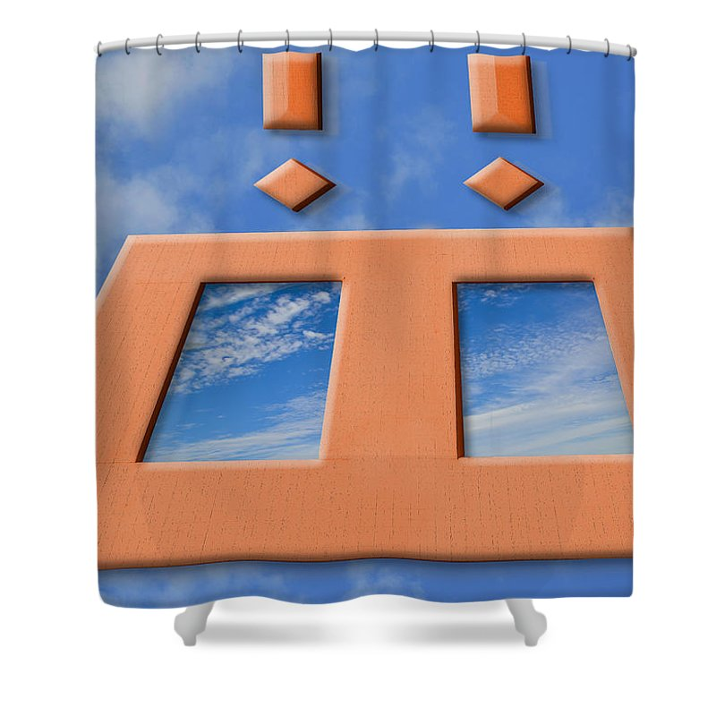 Parallel Universe Shower Curtain featuring the photograph Parallel Universe by Paul Wear