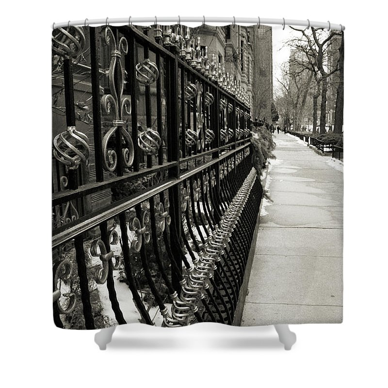 Chicago Shower Curtain featuring the photograph Perspective by Joanne Coyle