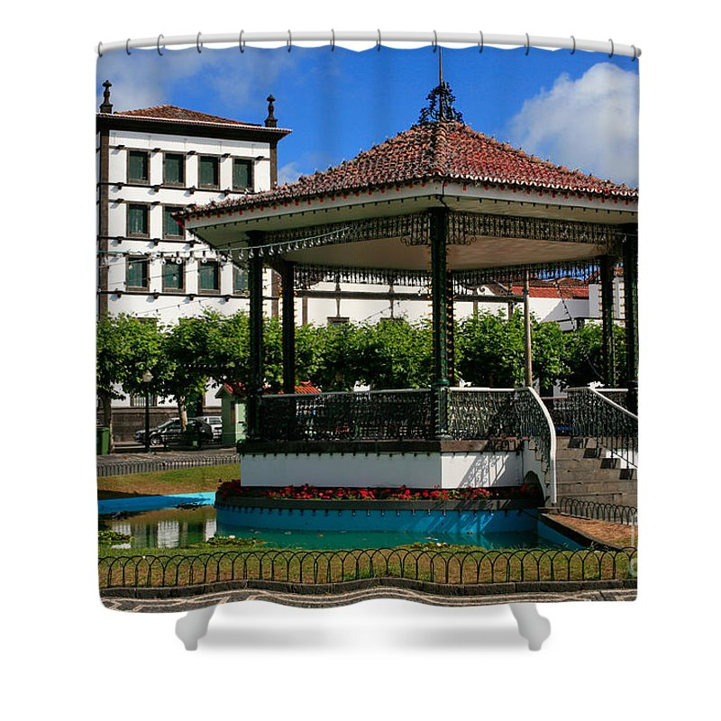 Europe Shower Curtain featuring the photograph Ponta Delgada by Gaspar Avila