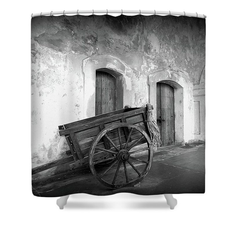 Puerto Rico Shower Curtain featuring the digital art Puerto Rico by Lauren Dewitt