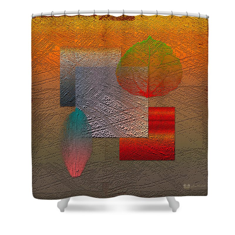 Abstracts By Serge Averbukh Shower Curtain featuring the photograph Quiet Sunset At The End Of Northern Summer by Serge Averbukh